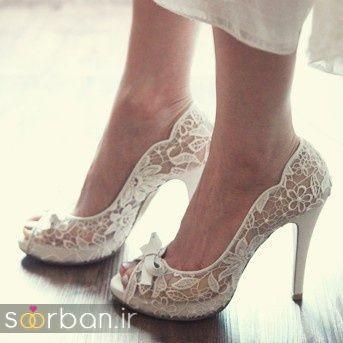 کفش عروس پاشنه بلند 2017-9