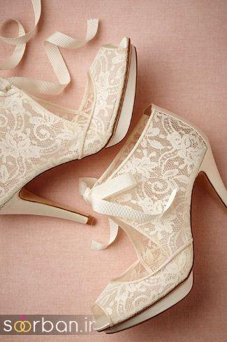کفش عروس پاشنه بلند 2017-11