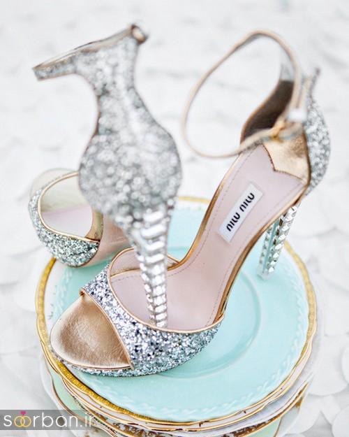 کفش عروس پاشنه بلند 2017-12
