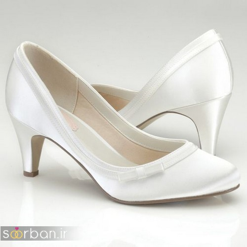 کفش عروس پاشنه کوتاه زیبا-24