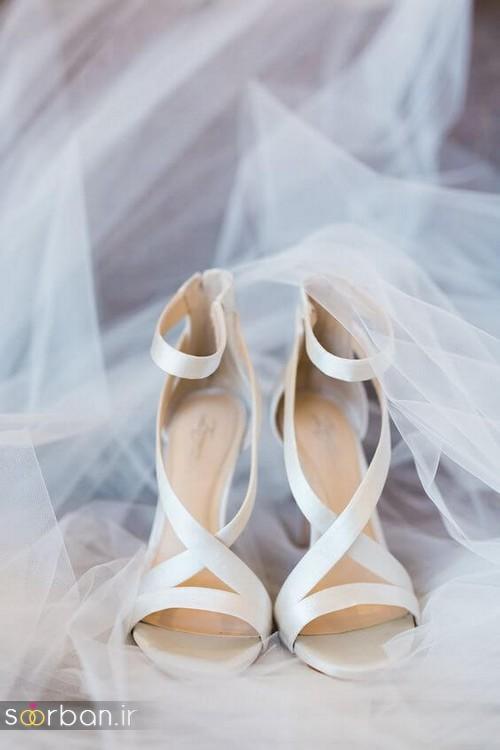 23 کفش عروسی شیک و رمانتیک