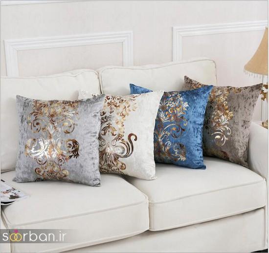 کوسن تزیینی مدرن برای مبل و تخت جهیزیه عروس-10