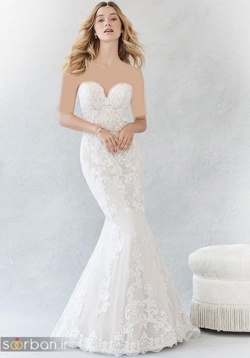 لباس عروس مدل ماهی فوق العاده1