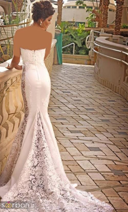 لباس عروس مدل ماهی فوق العاده3