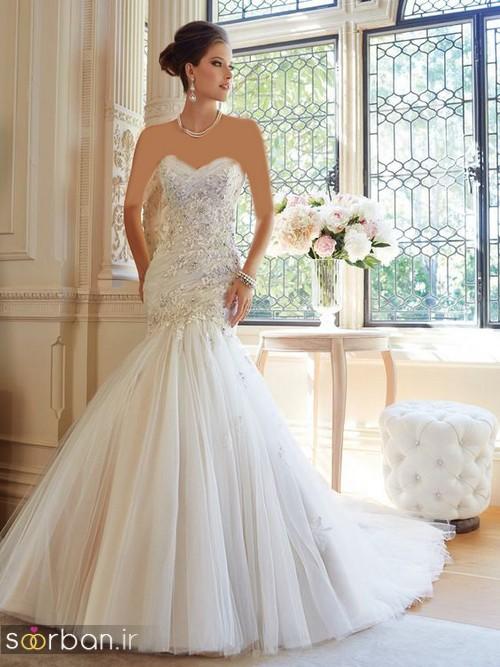 لباس عروس مدل ماهی فوق العاده4