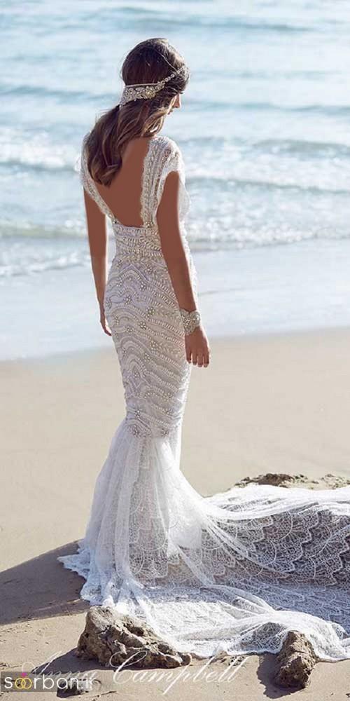 لباس عروس مدل ماهی فوق العاده6