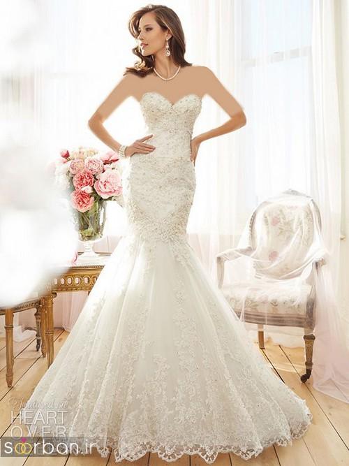 لباس عروس مدل ماهی فوق العاده
