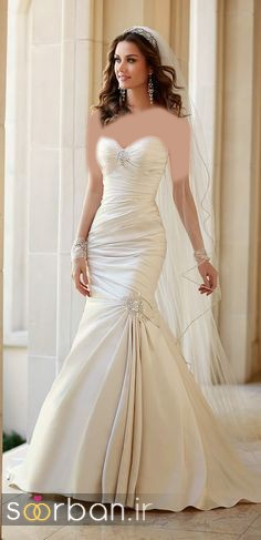 لباس عروس مدل ماهی فوق العاده11