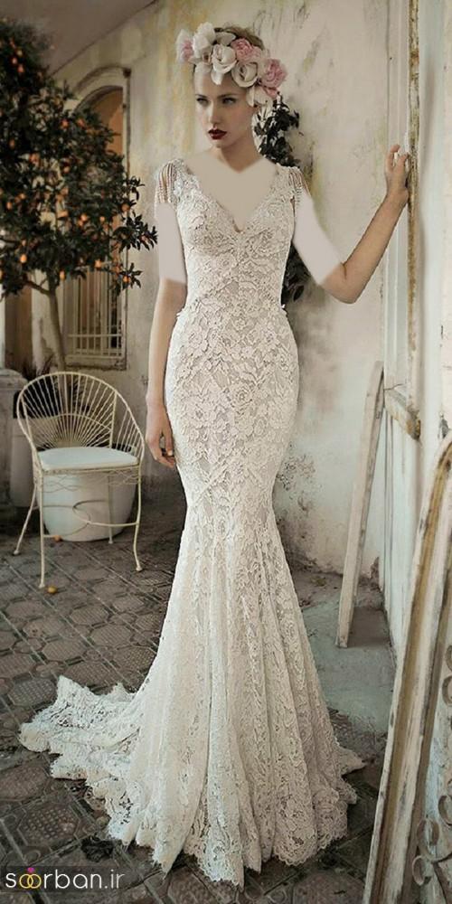 لباس عروس مدل ماهی فوق العاده12