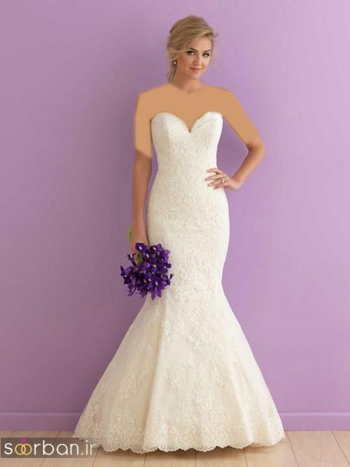 لباس عروس مدل ماهی فوق العاده14