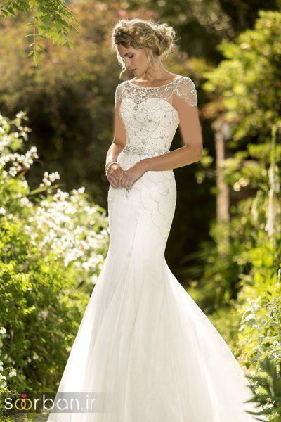 لباس عروس مدل ماهی فوق العاده16