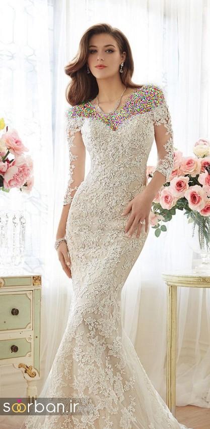 لباس عروس جدید9