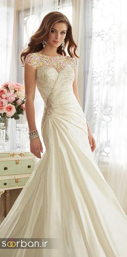 لباس عروس جدید10