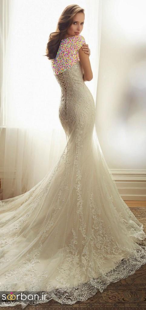 لباس عروس جدید13