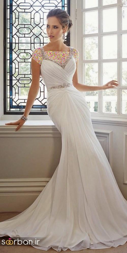 لباس عروس اروپایی خاص6
