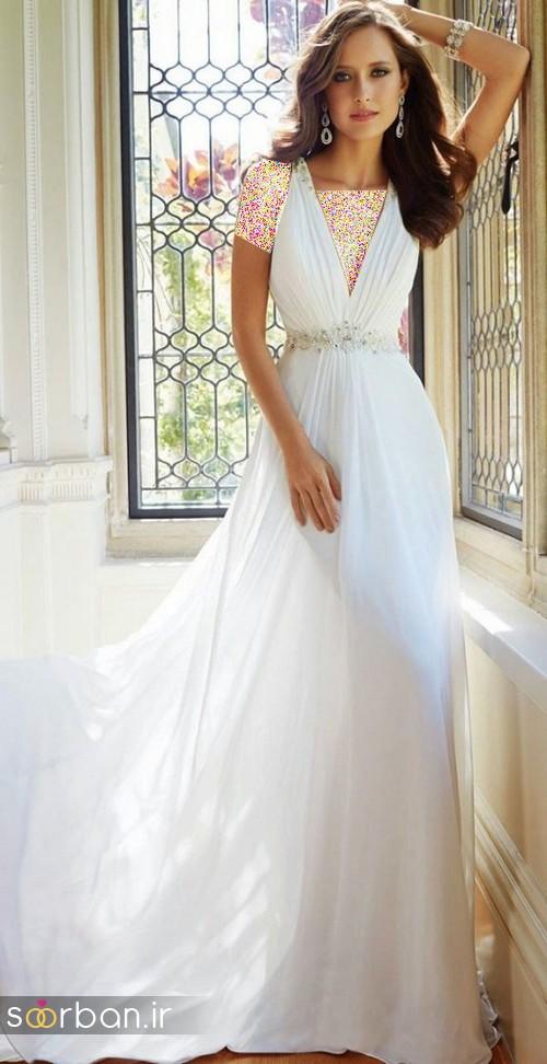 لباس عروس اروپایی خاص4