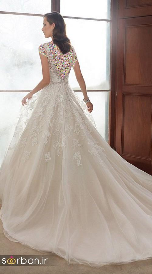 لباس عروس اروپایی خاص و شیک 2017
