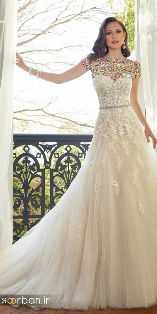 لباس عروس اروپایی خاص8