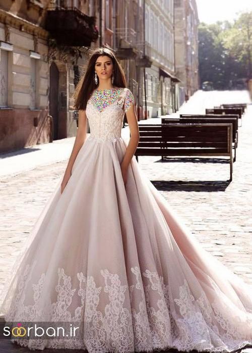 لباس عروس اروپایی خاص9