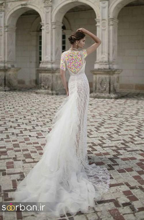 لباس عروس اروپایی خاص10