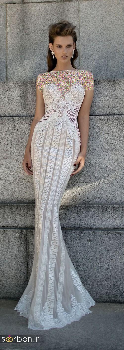 لباس عروس اروپایی خاص11
