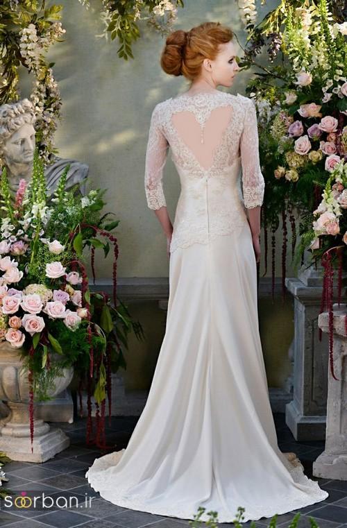 لباس عروس آستین سه ربع11
