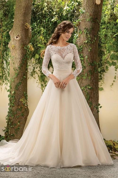 لباس عروس آستین سه ربع21