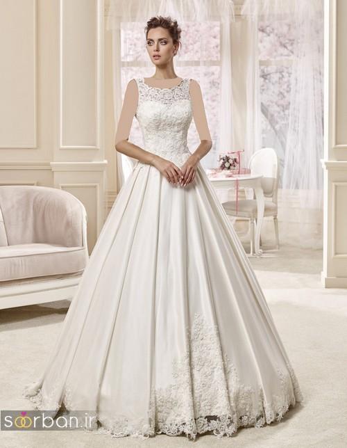 لباس عروس ترک شیک و زیبا 2017