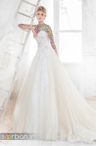 لباس عروس پفی 2018 شیک وجدید