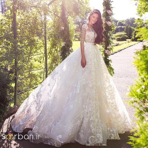 مدل لباس عروسی پرنسسی جدید شیک جدید