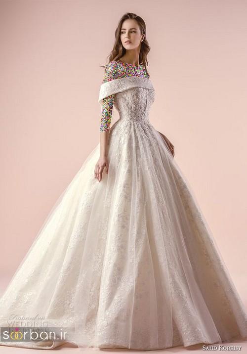 مدل لباس عروسی پرنسسی جدید شیک جدید زیبا
