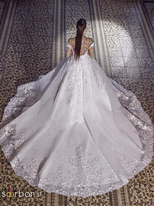 مدل لباس عروسی پرنسسی جدید شیک و خوشگل