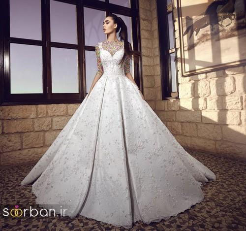 عکس مدل لباس عروسی پرنسسی جدید شیک و جدید