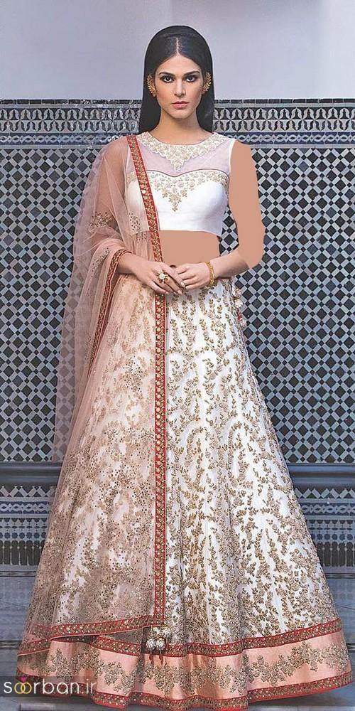 مدل لباس عروس هندی بلند  2018