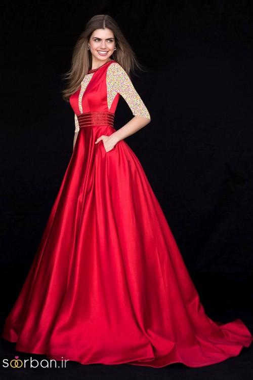 لباس حنابندان، عقد و نامزدی قرمز