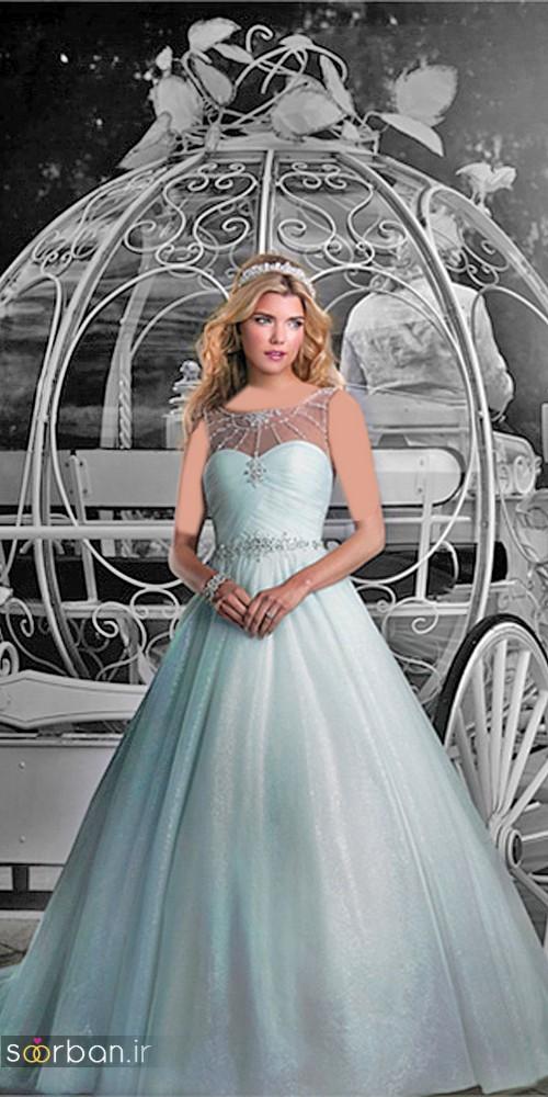 لباس عروس پرنسسی دیزنی1