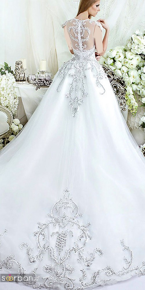 لباس عروس پرنسسی دیزنی3