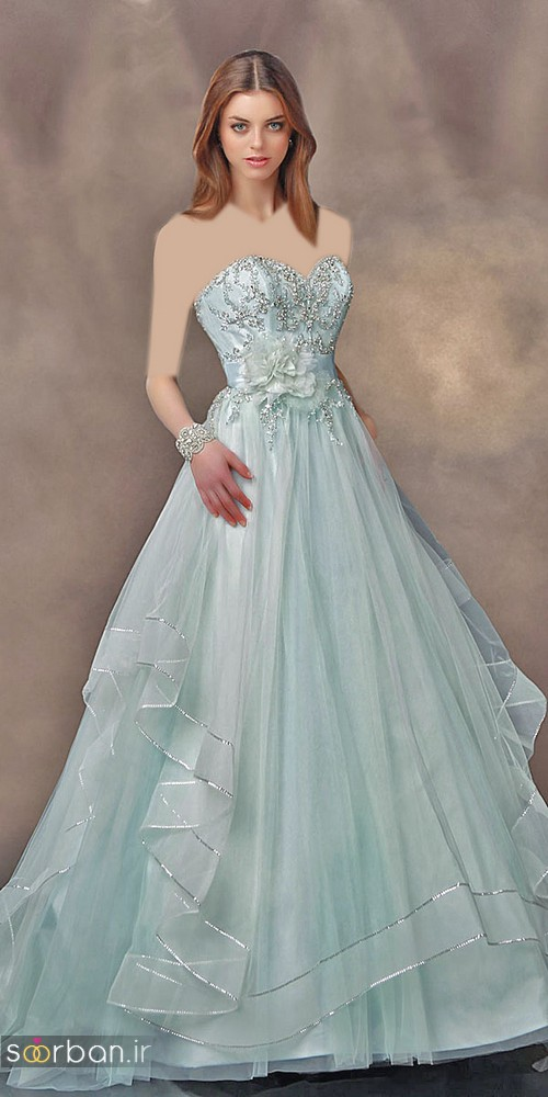 لباس عروس پرنسسی دیزنی4