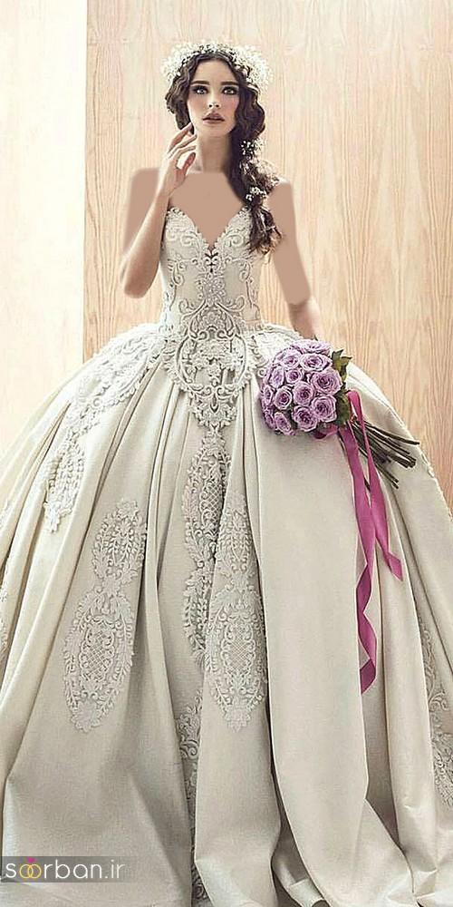 لباس عروس پرنسسی دیزنی5