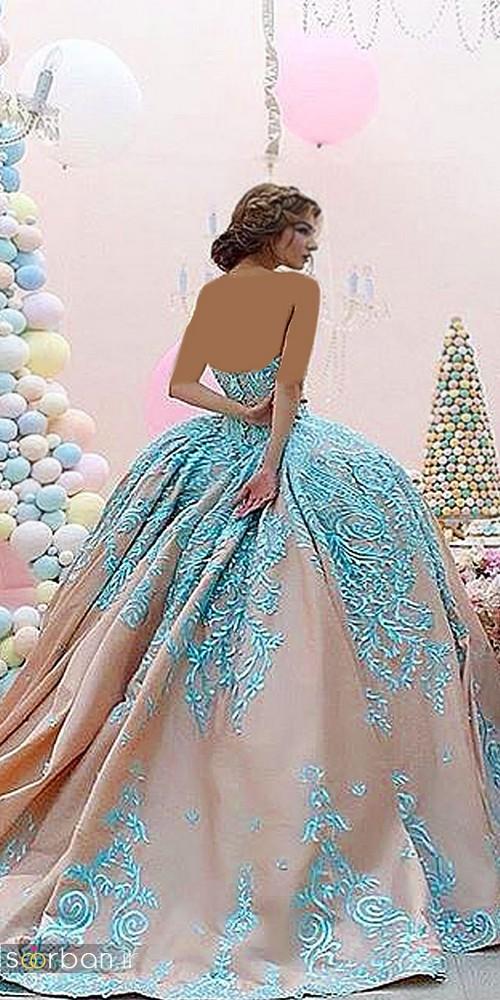 لباس عروس پرنسسی دیزنی