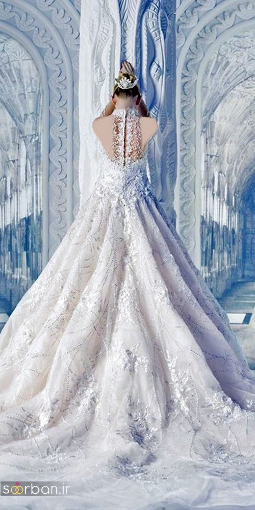 لباس عروس پرنسسی دیزنی8