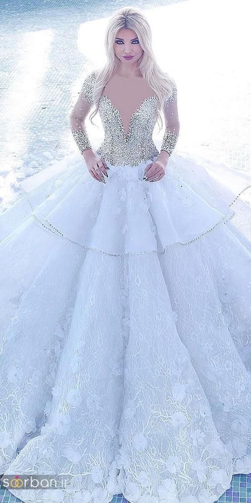 لباس عروس پرنسسی دیزنی9