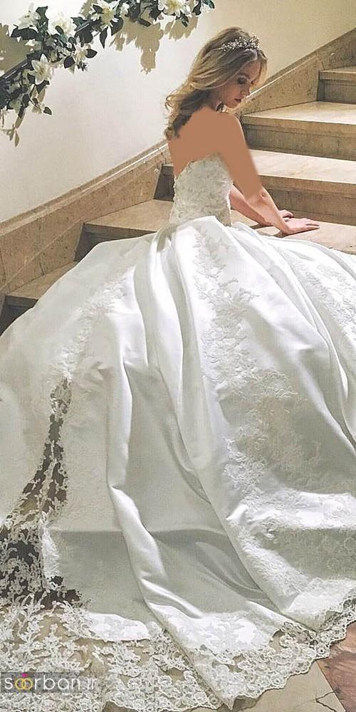 لباس عروس پرنسسی دیزنی10