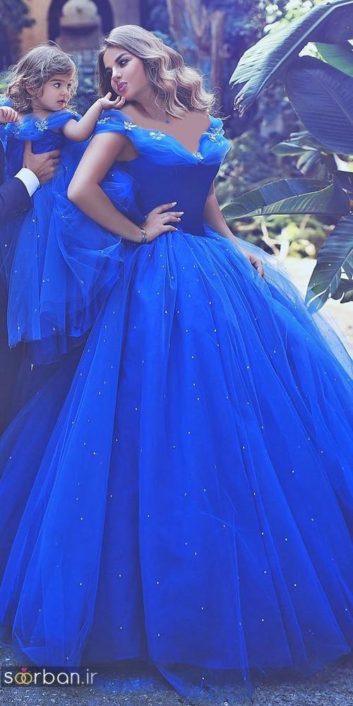 لباس عروس پرنسسی دیزنی12