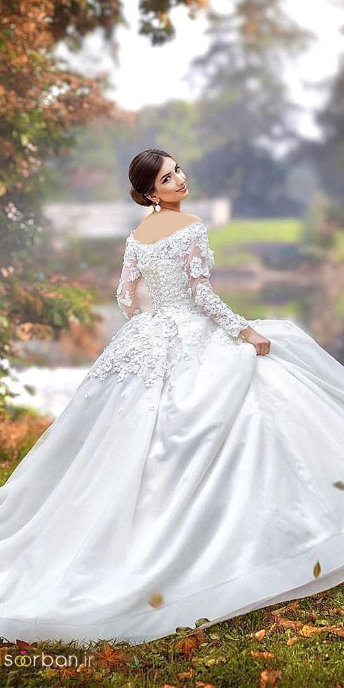 لباس عروس پرنسسی دیزنی14