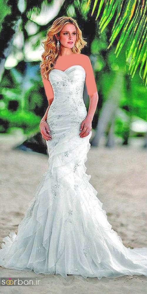 لباس عروس پرنسسی دیزنی16