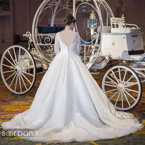 لباس عروس پرنسسی دیزنی18