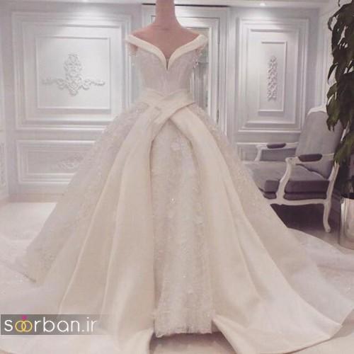 لباس عروس پرنسسی دیزنی19