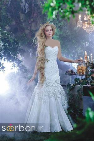 لباس عروس پرنسسی دیزنی21