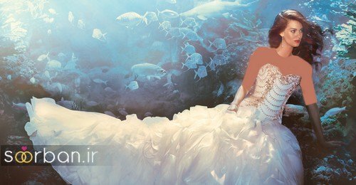 لباس عروس پرنسسی دیزنی22